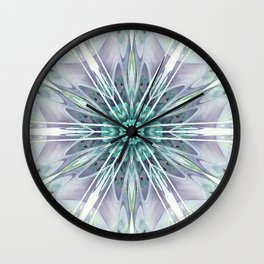 Mandalas for Times of Transition 25 Wall Clock
