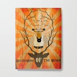 Brotherhood of the Bear Metal Print