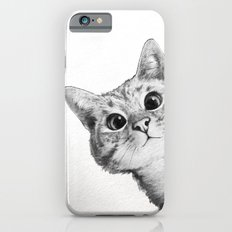 sneaky cat iPhone 6s Slim Case