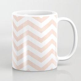 Coral Stripes zig-zag Coffee Mug