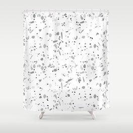 Terrazzo 048 Shower Curtain