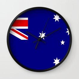 Australian Flag Wall Clock
