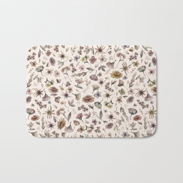 Botanical Study Bath Mat