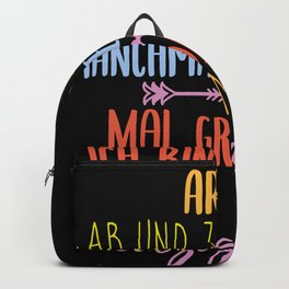 Unique Saying Backpack