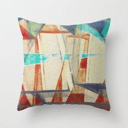 Stilt House 4 Throw Pillow