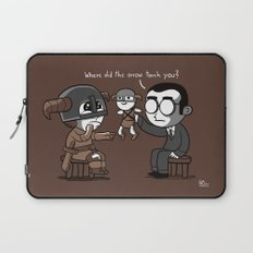 Knee Trouble Laptop Sleeve