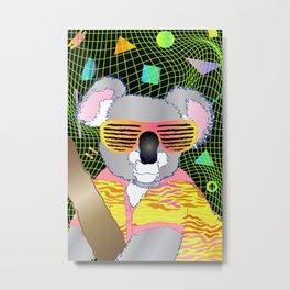 80's Koala Metal Print