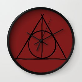 The Hallows Wall Clock