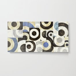 Sandro Nava - Universo circolare Metal Print