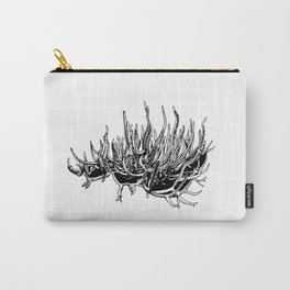 Bleached Coral Carry-All Pouch