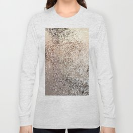 Sparkling GOLD Lady Glitter #1 #decor #art #society6 Long Sleeve T-shirt