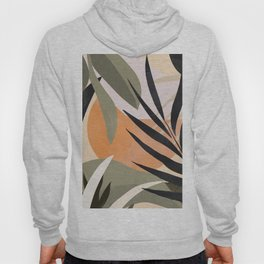 Abstract Art Tropical Leaves 2 Hoody
