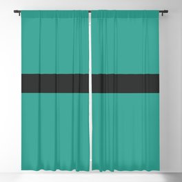 A smart adaptation of Sand Brown, Dark, Sea and Sea stripes. Blackout Curtain