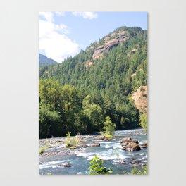Elwha River, Olympic National Park, Washington Canvas Print