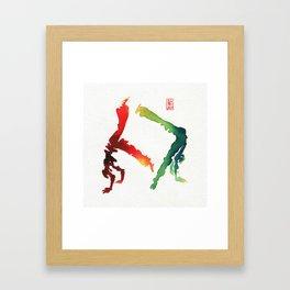 Capoeira 260 Framed Art Print