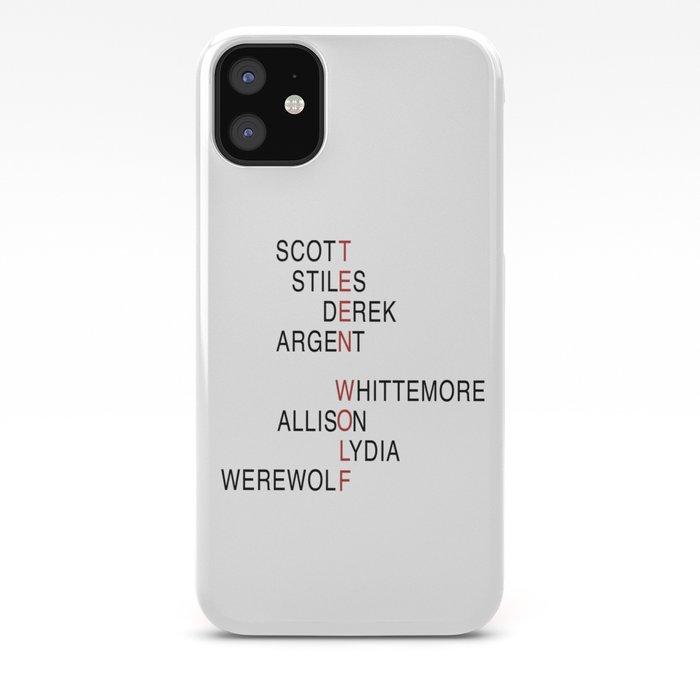 Teen Wolf Symbol 2 iphone case