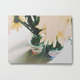 Flowers of Fall Metal Print