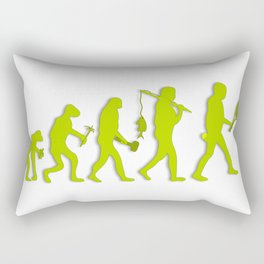 Evolution of Tennis Species Rectangular Pillow