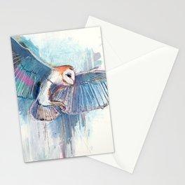 Broken Owl Stationery Cards