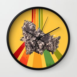 Whe will whe will rock you Wall Clock