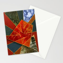 Abstract #330 Stationery Cards