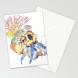 Home I: Hermit Crab Stationery Cards
