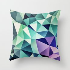 :: digital pattern :: Throw Pillow