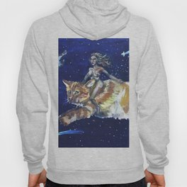 Cat Warrior of Space Hoody