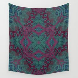 Pink & Teal Wall Tapestry