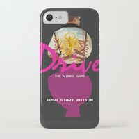 video game iPhone & iPod Cases featuring Drive Video Game by Simon Alenius