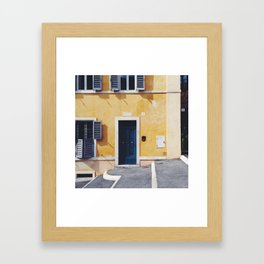 ITALY ROME Print Travel Wall Art Home Decor Set of 4 Prints Square Prints SALE Framed Art Print