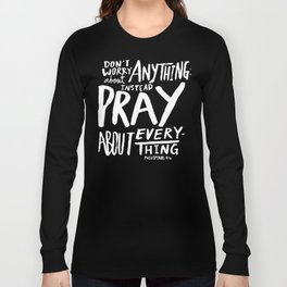 Dont Worry, Pray x Rose Long Sleeve T-shirt