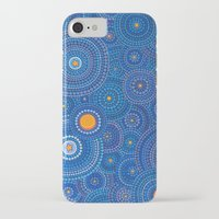 starry night iPhone & iPod Cases featuring Starry Starry Night by Elspeth McLean