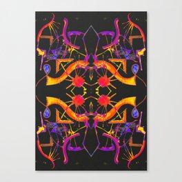 五 (Wǔ) Canvas Print