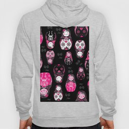 Russian/Mexican nesting dolls Hoody