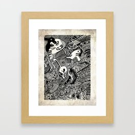 African Dream Framed Art Print