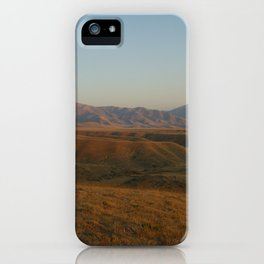 Panoche Valley 2018 iPhone Case
