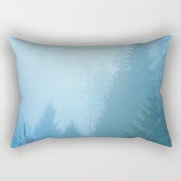 Forest Mist Rectangular Pillow