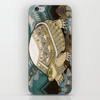 turtle iPhone & iPod Skins featuring Turtle by Yuliya