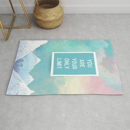 Your Only Limit Quote Rug
