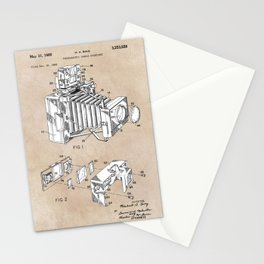 patent art 1966 Bing photographic camera accessory Stationery Cards