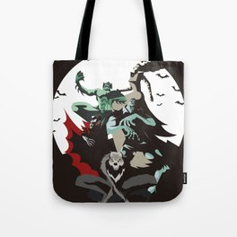 evil monsters group poster Tote Bag