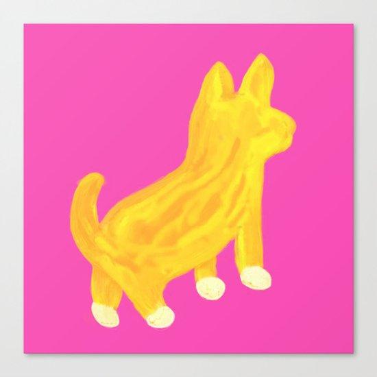 Shibainu dog Canvas Print