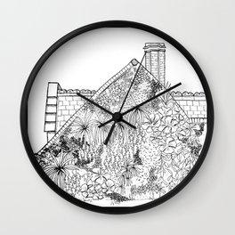 Outside IV Wall Clock