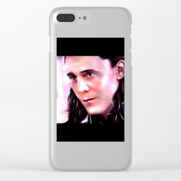 Loki - Burdened with Glorious Purpose XX Clear iPhone Case