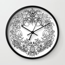 The Best Time To Plant a Tree Wall Clock