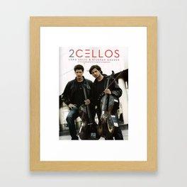 2 CELLOS TOUR WORLD 2018 Framed Art Print