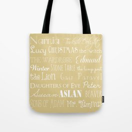 Narnia Celebration- oat Tote Bag