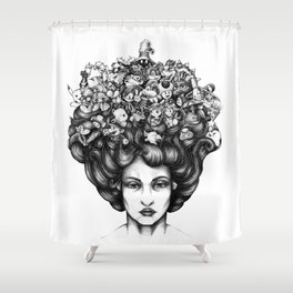 Video Game Shower Curtain