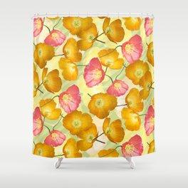 Poppy mania Shower Curtain